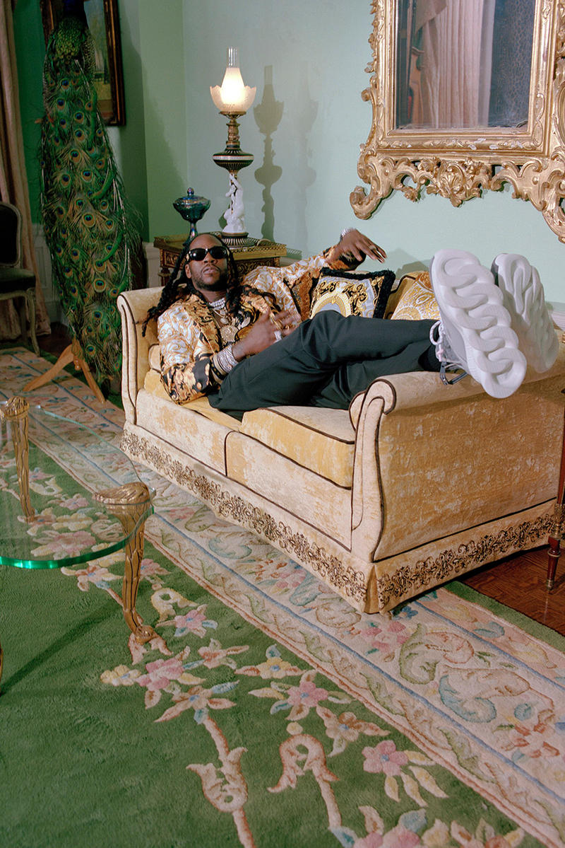 """2 Chainz Versace """"2 Chain Reaction"""" Capsule collaboration february 1 2019 drop release date info buy atlanta ready to wear athleisure america usa"""