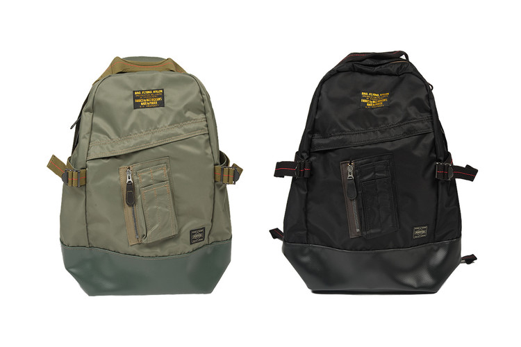 ec15e3fb4 Buzz Rickson and Porter Come Together for a MA-1-Inspired Backpack