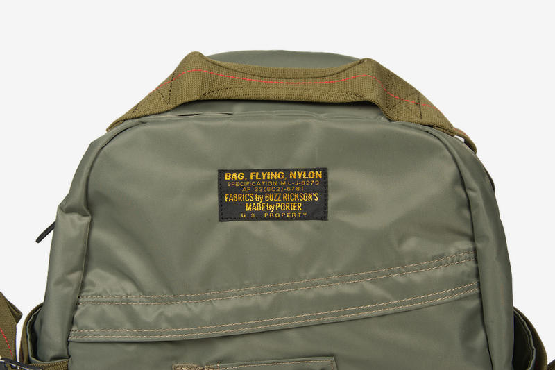 5c9ec717f7 Buzz Rickson X Porter Yoshida Ma 1 Backpack