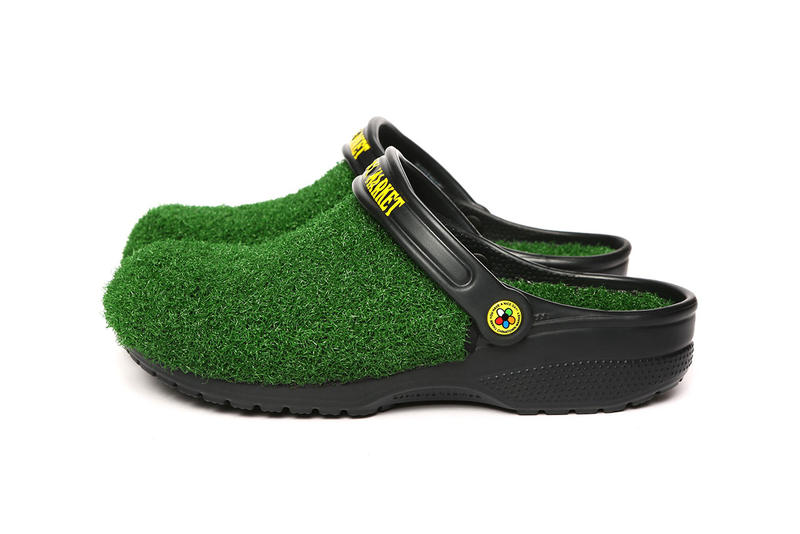 Chinatown Market Crocs Turf Lined Clog Release grass shoe collaboration footwear drop info january 24 2019 buy