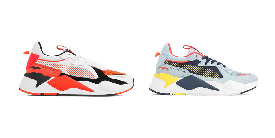 722e82a9f Puma RS X Reinvention Sky and Red Blast Colorways