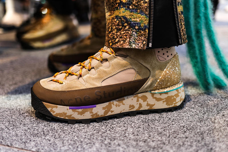Acne Studios Paris Fashion Week FW19 Backstage Fall/Winter 2019 First Look Closer Jewelry Sneakers Boots Apparel Release Details Jonny Johansson Swedish Fashion