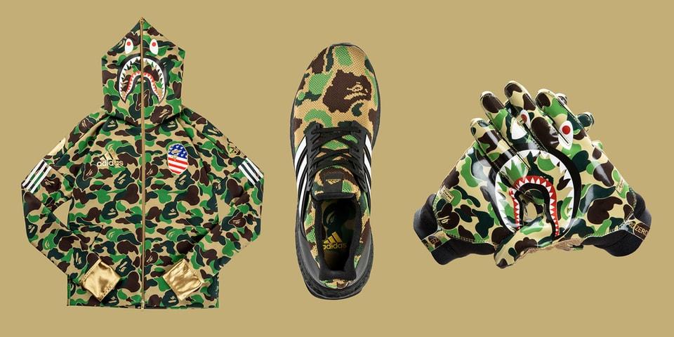 bd288bf8b18 BAPE x adidas Football Capsule