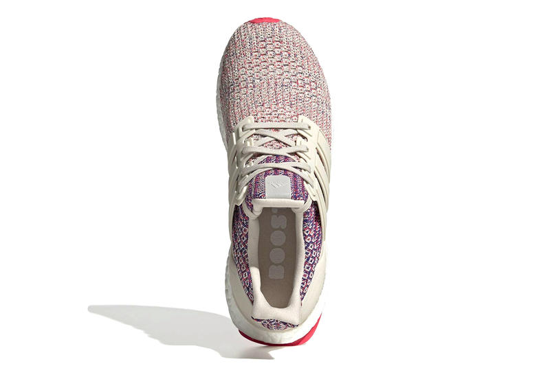 adidas UltraBoost 4.0 Receives Multi-Colored Makeover drop release date info price images red purple sportswear footwear knit three stripes