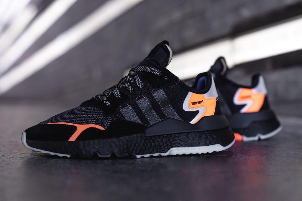 adidas Nite Jogger Core Black/Orange