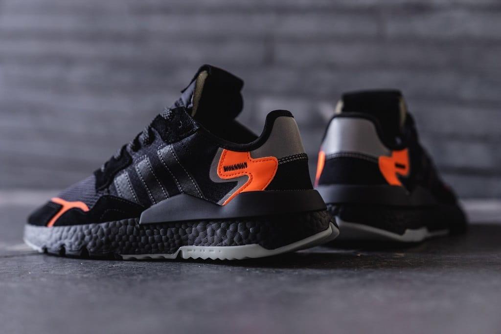 adidas originals nite jogger orange