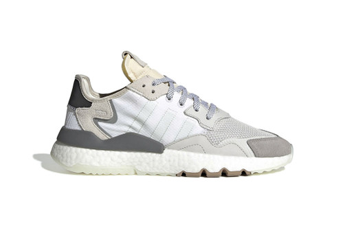"""adidas' Nite Jogger to Drop in Minimalistic New """"Crystal White"""" Colorway"""