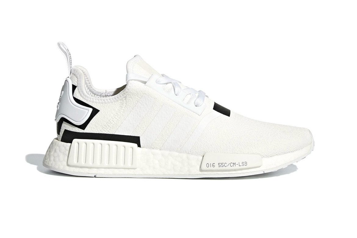 Adidas Nmd R1 With Black And White Colorblocks Hypebeast