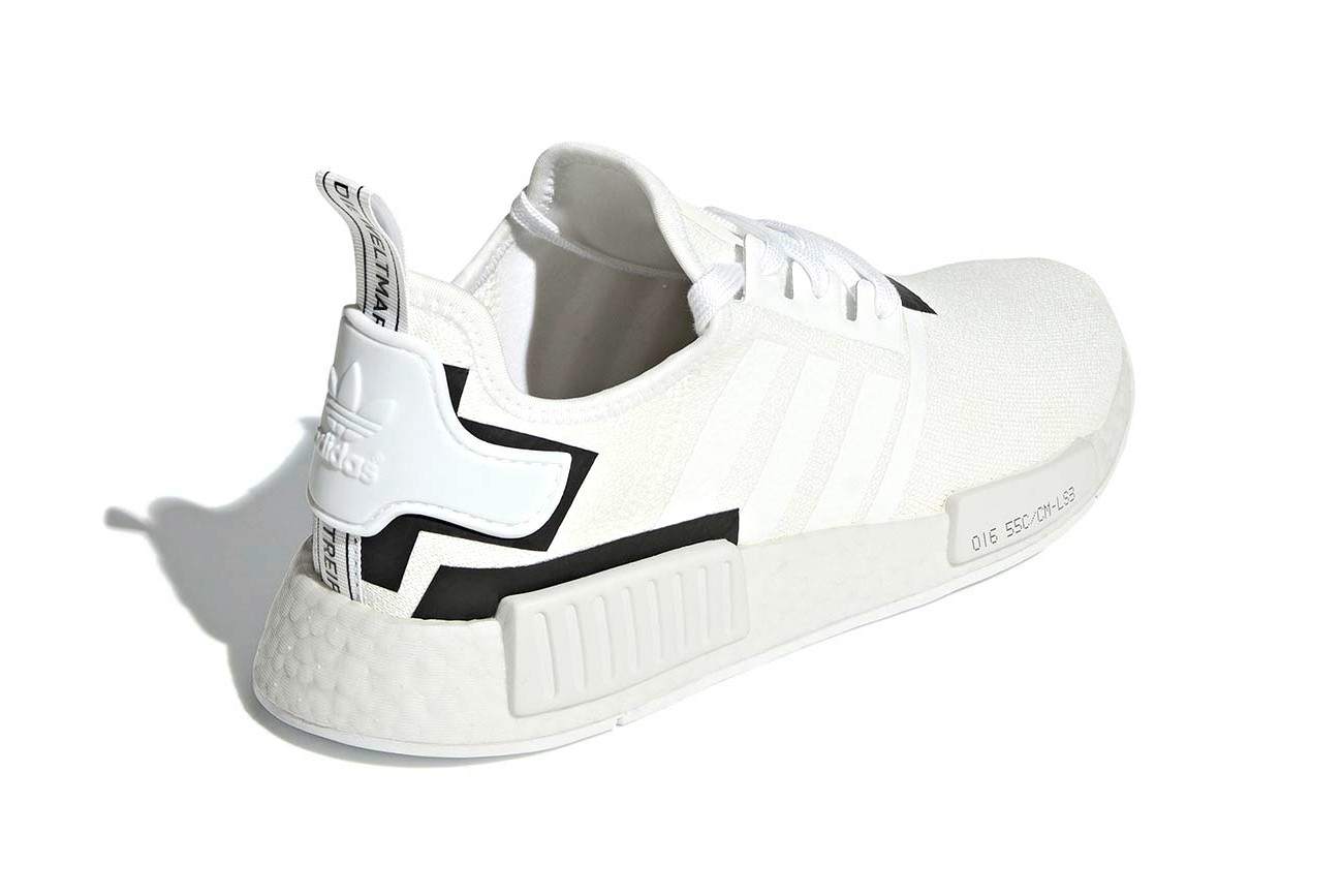 White Black Adidas Nmd Great Quality Fast Delivery Special