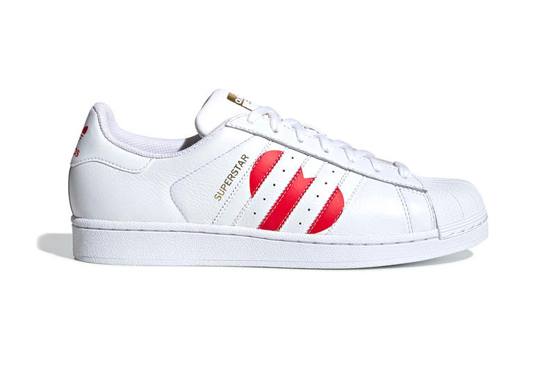free shipping 6c3a4 278bf Adidas Superstar Valentines Day 2019 Info sneakers shoe fashion adidas  originals Running White College Red Gold