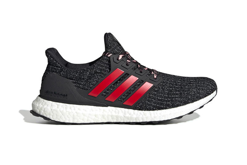 check out db277 fab72 adidas UltraBOOST 4.0 2019 Chinese New Year Release info Date Pig Core  Black Scarlet Grey Red