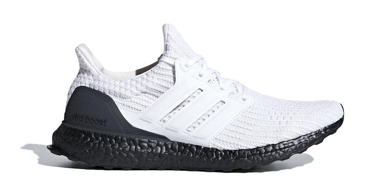 7df521f02 A lovely marriage of white and black. adidas ultraboost white black 2019  footwear upper primeknit boost sole. 1 of 2. Sneaker Bar Detroit
