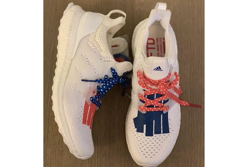 UNDEFEATED x adidas Ultraboost 'Independent Day' First Look Leak Collab Collaboration Collaborative Sneakers Trainers Kicks Shoes Footwear Cop Purchase Buy