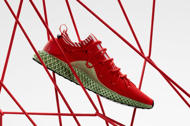831547351 Y-3 s Latest Runner 4D Gets a Splashy Red Makeover