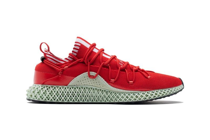 y-3 y3 runner 4d red sneaker release yohji Yamamoto futurecraft adidas