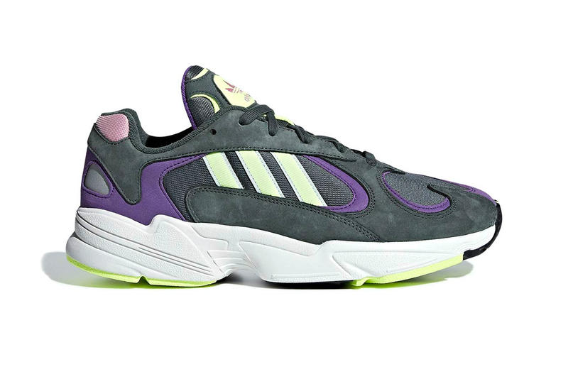 Adidas Yung 1 Legend Ivy Colorway Info sneakers shoe fashion Release date grey neon yellow volt pink purple