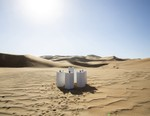 This Artist Set up a Musical Art Display in the Middle of the Namibia Desert