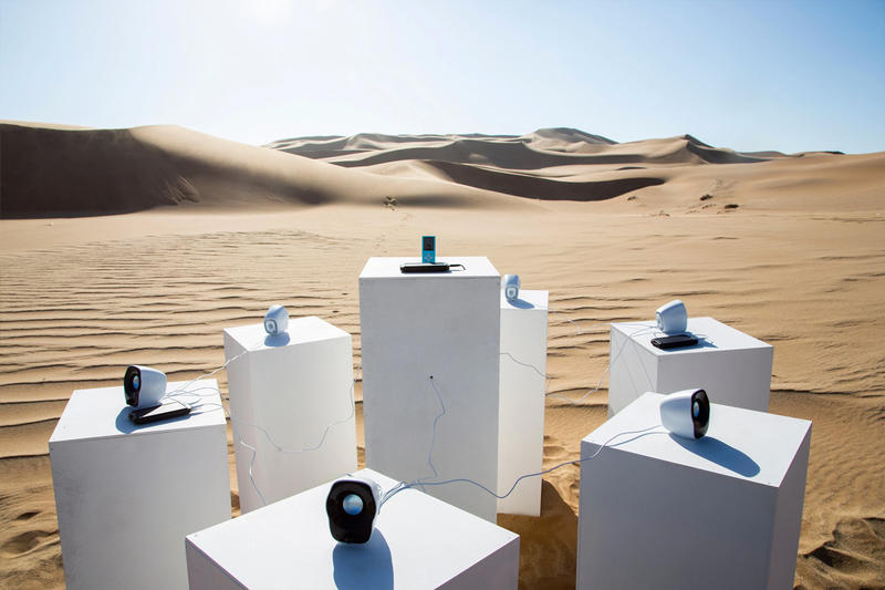 Endless Echos of Toto's 'Africa' Resonates Throughout the Namib Desert max siedentopf sound installation arts