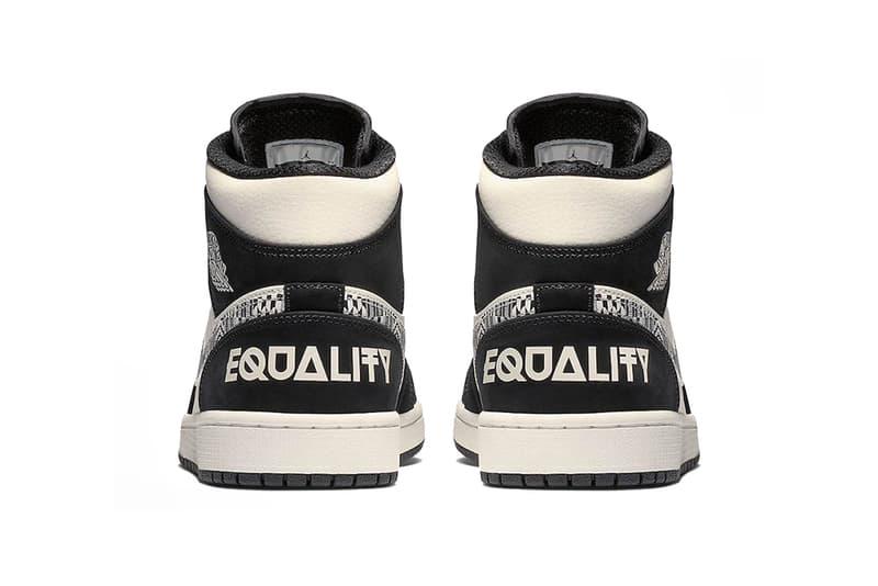 4c5b0bdb3e75 Sneaker Bar Detroit. air jordan 1 mid equality 2019 january footwear jordan  brand