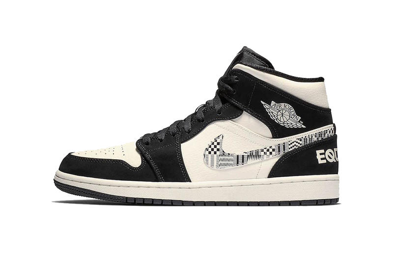 5abbe15af6a31 air jordan 1 mid equality 2019 january footwear jordan brand. 1 of 4. Sneaker  Bar Detroit