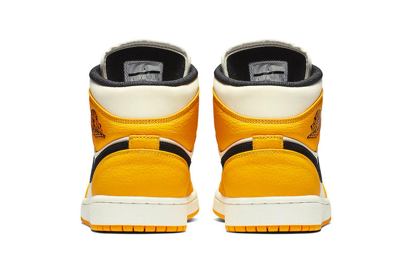 Air Jordan 1 Mid Lakers Colorway Release  6a9e01383