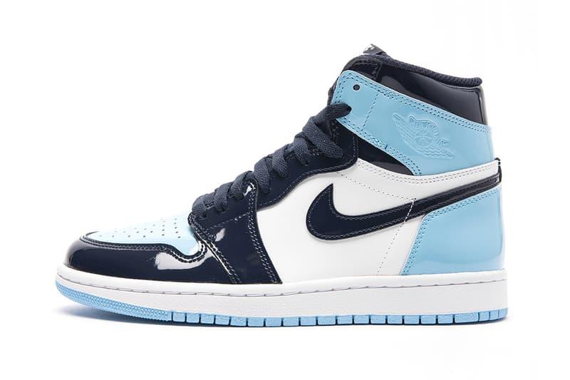 "Air Jordan 1 ""Blue Chill"" Release nike jordan brand swoosh north Carolina basketball jumpman retro high og"