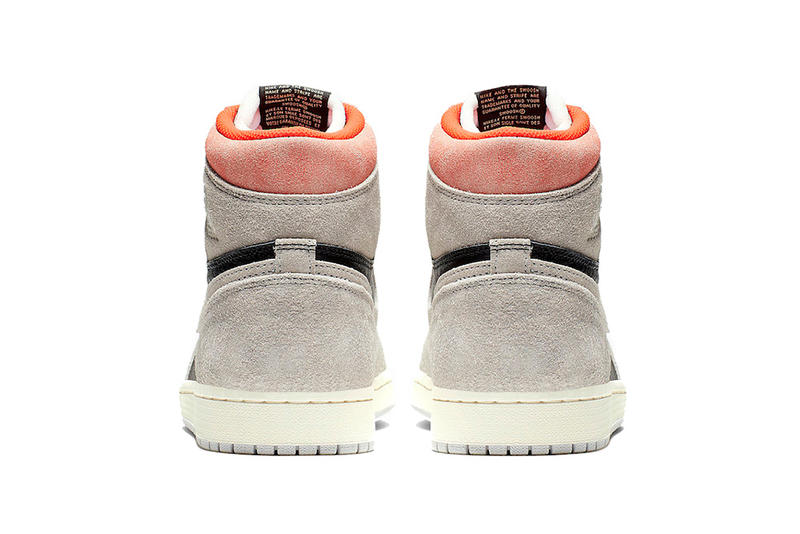 air jordan 1 retro high og neutral grey hyper crimson white black 2019 january footwear jordan brand