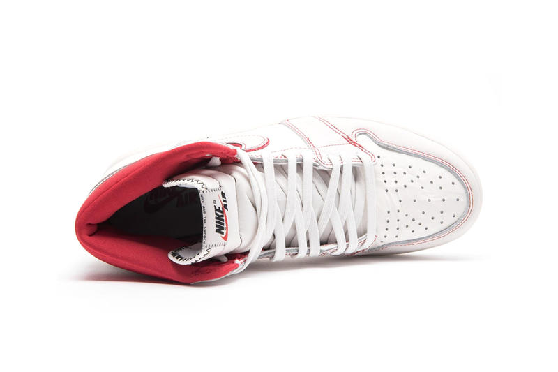 Air Jordan 1 Retro High OG Receives a Phantom-Inspired Colorway release drop date images price basketball sneakers footwear sportswear white red black