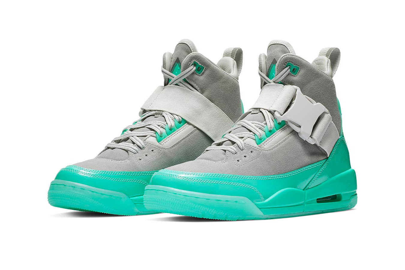green jordans 3