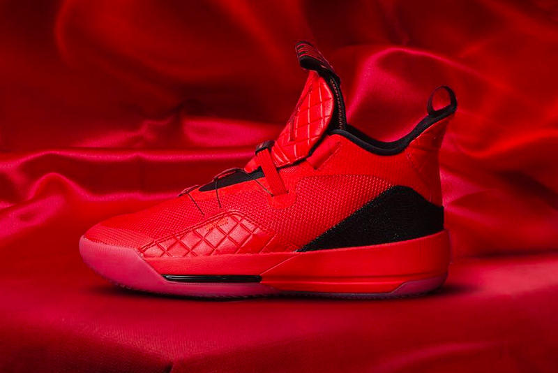 new concept 24ddd 992c4 Air Jordan 33 Gets a Full Red Release nike jordan brand chinese new year. 2  of 8