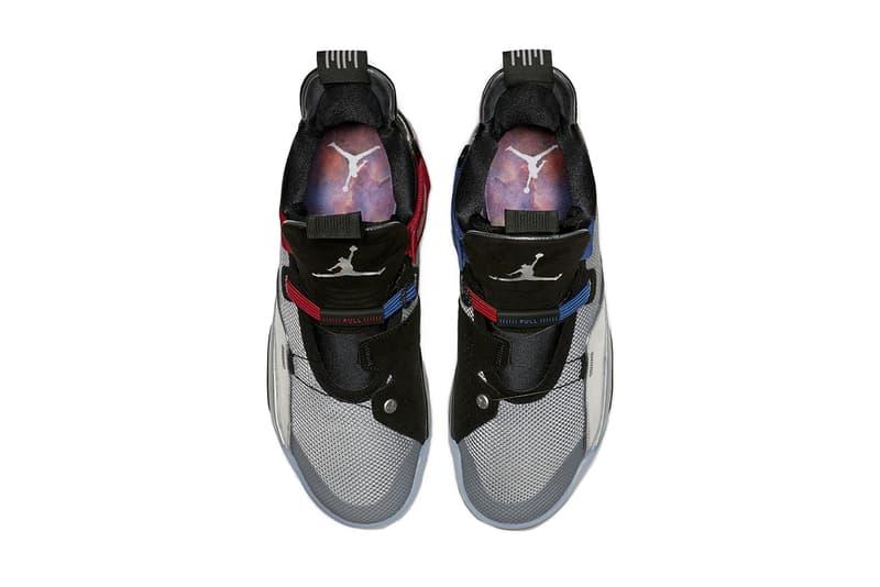 air jordan 33 all star 2019 january black metallic silver footwear jordan brand
