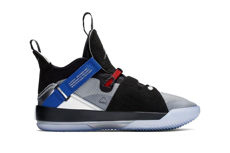 71a72352139 air jordan 33 all star 2019 january black metallic silver footwear jordan  brand