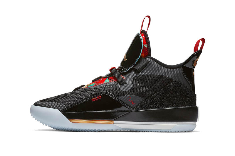 4db821b2fad1 air jordan 33 chinese new year 2019 january footwear jordan brand clean  look black red gold