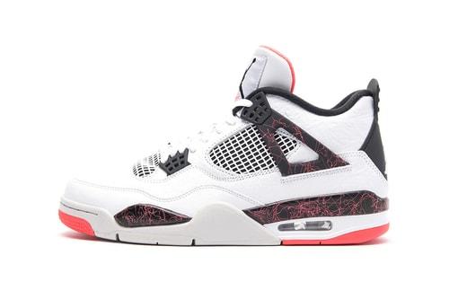 "The Air Jordan 4 Retro Is Getting a ""Bright Crimson"" Overhaul"