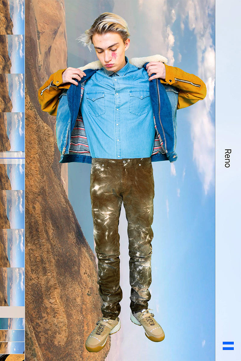 Alchemist Fall Winter 2019 Graceland Lookbook info collection Fall Winter fashion american usa elvis presley guess jeans blackmeans