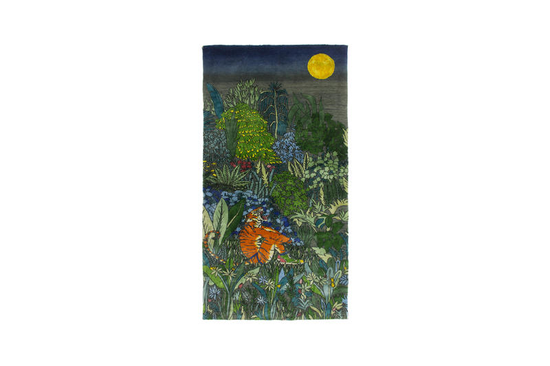 anish kapoor kiki smith sothebys world wildlife foundation tomorrows tigers charity exhibition fundraising rugs