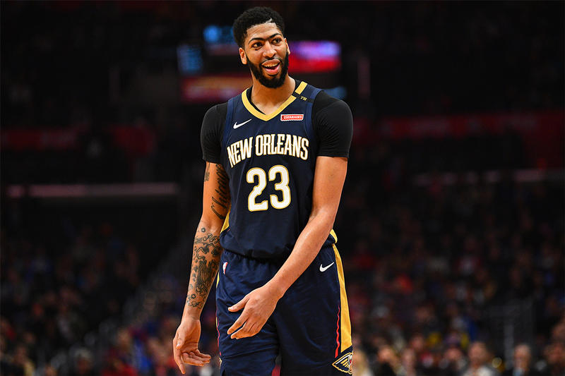 anthony davis new orleans pelicans 2019 january nba sports basketball