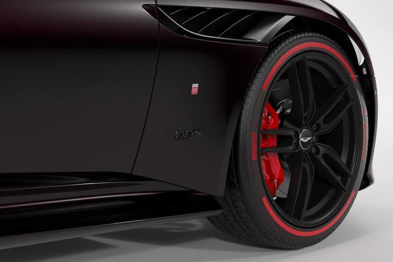 Aston Martin DBS Superleggera Tag Heuer Edition Announcement Black Watch Limited
