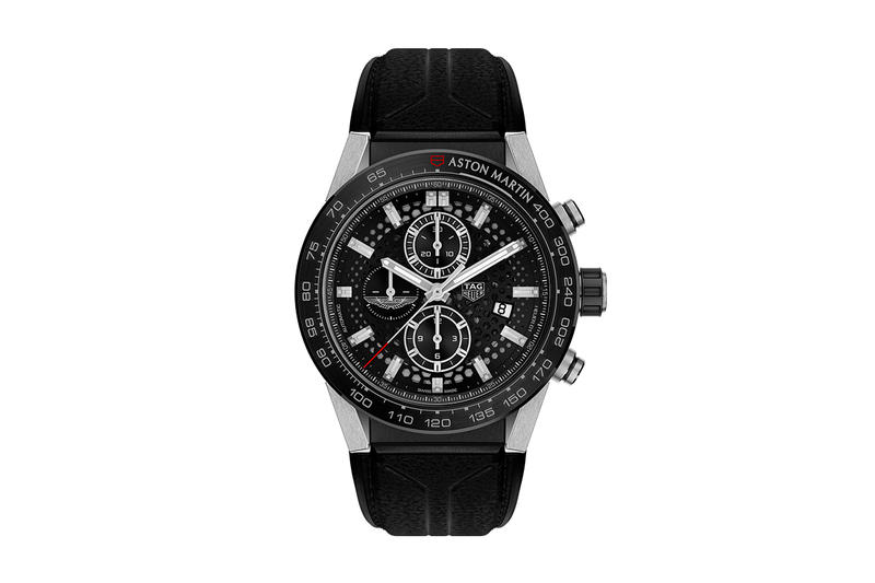 Aston Martin DBS Superleggera Tag Heuer Edition Announcement Black Watch Limited