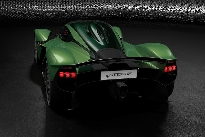 Aston Martin Valkyrie AMR Performance Track Pack Announcement green