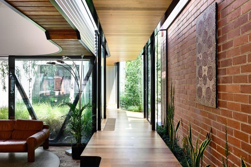 "Austin Maynard Architects Design ""Forever House"" family home terrace fitzroy community garden"