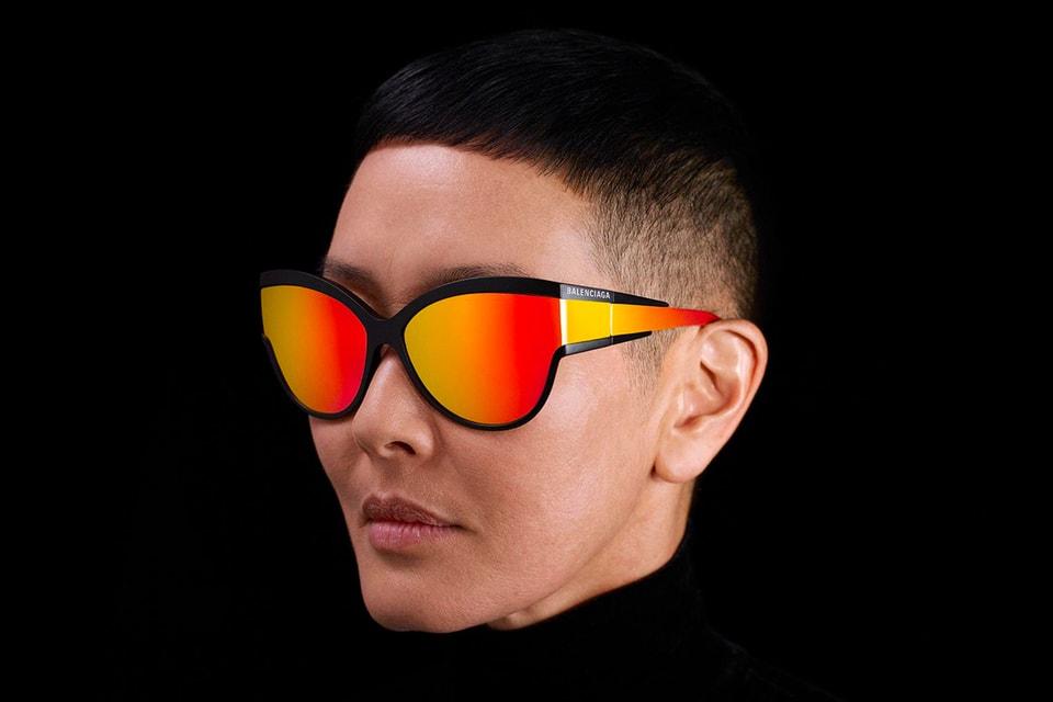 ed9646be149 Balenciaga Kering Eyewear Collection Full Look