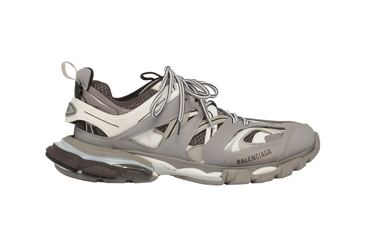 29fa737fdeeb Balenciaga s Hiking-Inspired TRACK Sneaker Now Comes in Cool Grey Colorway