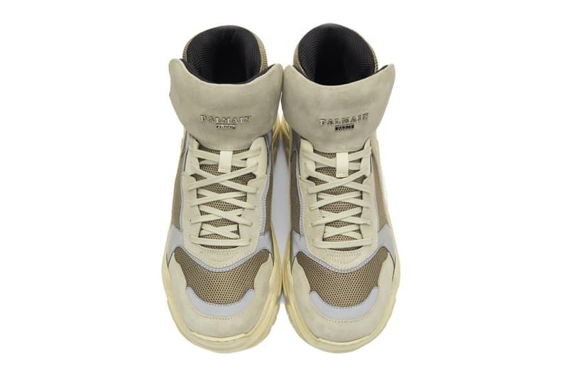 Balmain Joan Sneakers Release Info Date Beige Chunky Boot