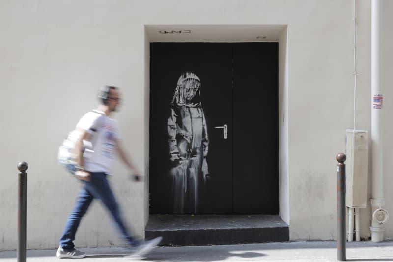 banksy bataclan artwork stolen paris france mural stencil