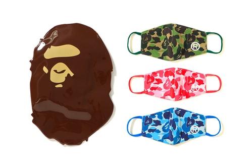 BAPE Drops New ABC CAMO Face Masks
