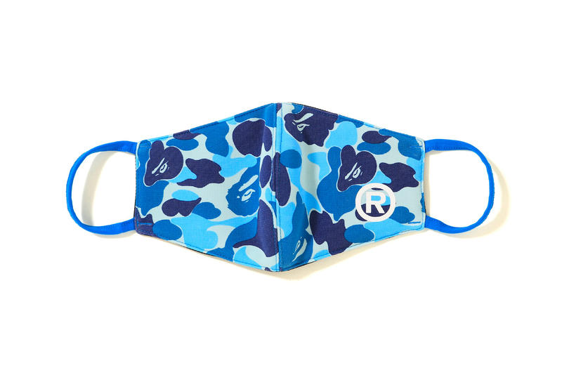 BAPE Drops New ABC CAMO Face Masks a bathing ape 1st camo pink green blue accessories winter