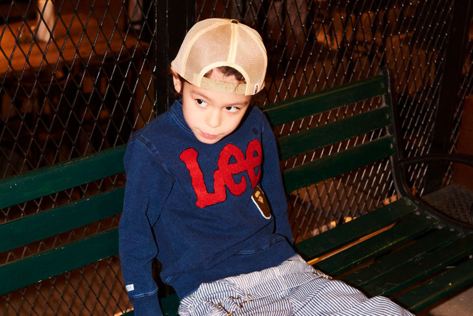 3e52619aeb6 BAPE Kids x Lee Jeans Collaboration Lookbook