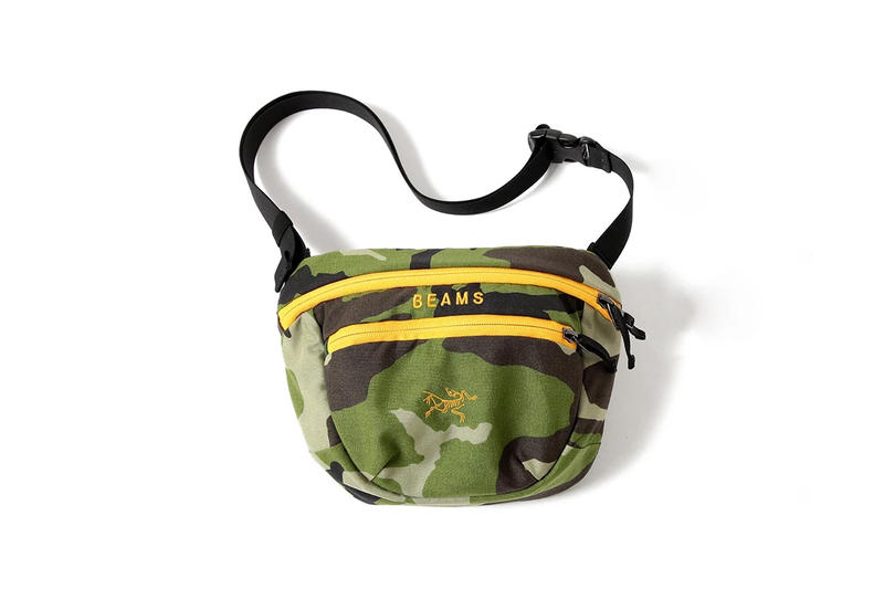 BEAMS x Arc'teryx Bag Collection camouflage arro 22 sebring maka 2 Japan