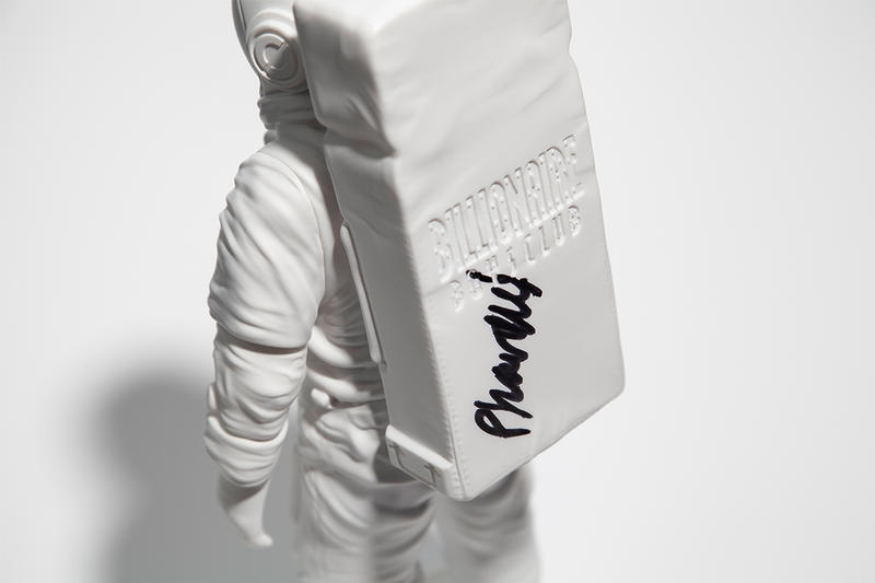 Billionaire Boys Club LANDING 001 Moon Man Collectible Release info Date White Pharrell williams